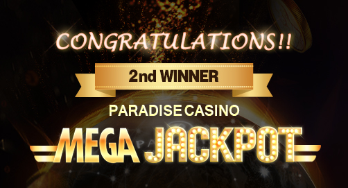 MEGA JACKPOT 2nd WINNER